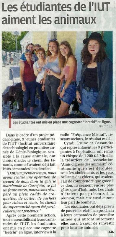 La Provence du 25 juin 2020 page 10